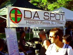 Da Spot one of the Kapiolani Community College Farmers Market vendors