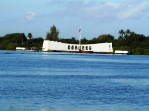 Arizona Memorail in Pearl Harbor Honolulu Hawaii