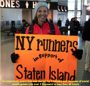 2012 NYC Marathon Runners Race to Aid Staten Island residents